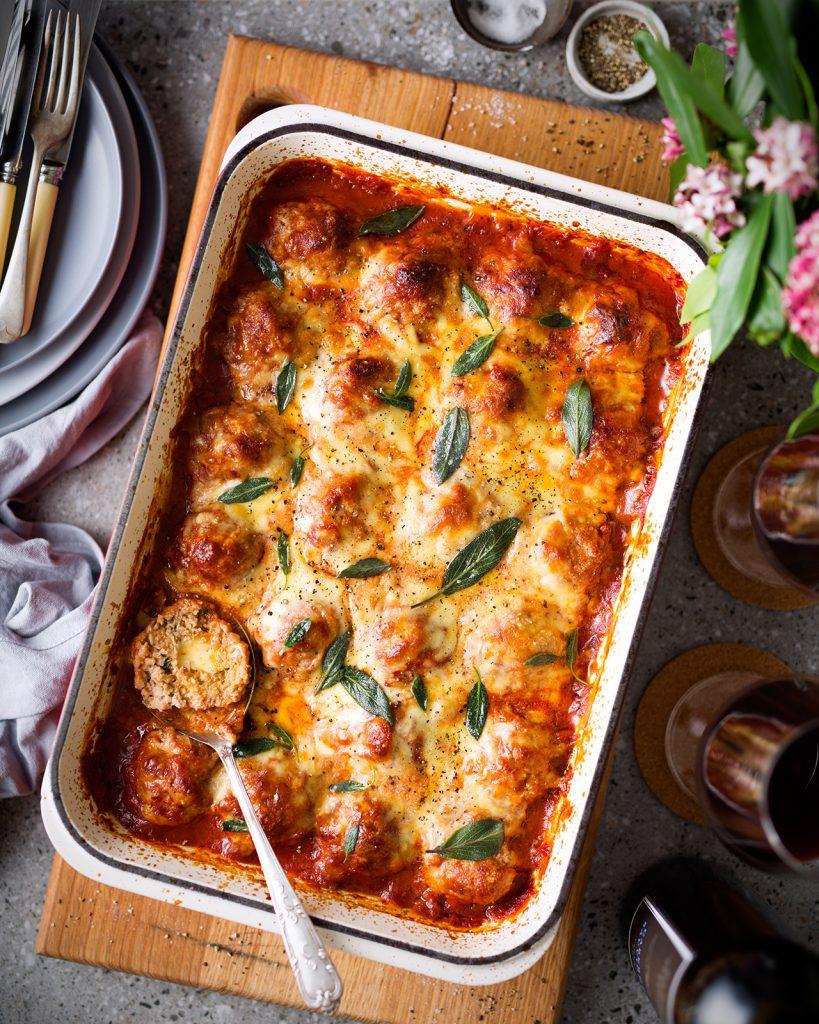 recipe mycookexpert magimix cook expert pork meatball saltimbocca